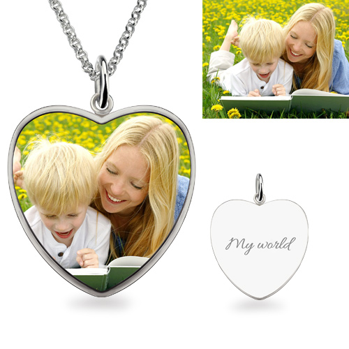 Color Photo Necklace